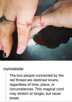 This is a cute idea for matching couple tattoo