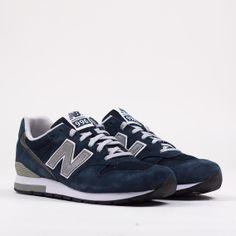 New Balance 996 - Navy Suede MRL996AN