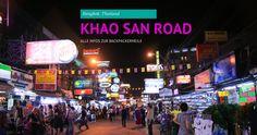 Bangkok und die Khao San Road sind der Ausgangspunkt für viele Rundreisen durch Thailand. Alle Infos zur Khao San Road findest du hier. http://flashpacking4life.de/khao-san-road-bangkok-eine-eigene-welt/ #bangkok #khaosanraod #thailand