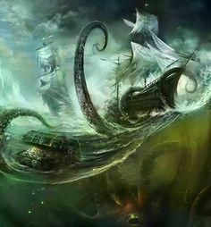 Cool sea monster!