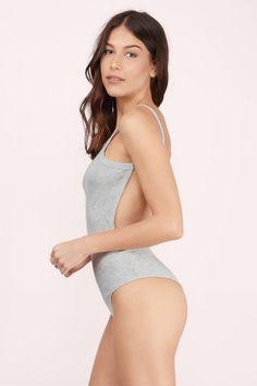 Take Hold Backless Bodysuit