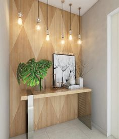 Apartment Entrance Design Lamps 47 Ideas For 2019 Studio Apartment Decorating, Hallway Decorating, Entryway Decor, Wall Decor, Interior Decorating, Interior Design, Apartment Design, Entrance Design, Hall Design