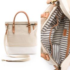 Madewell - Pearl Ivory Utility Tote