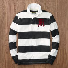 Rugby brand Rugby. RL is shuttering Rugby line in Spring 2013 so I need to buy everything now.
