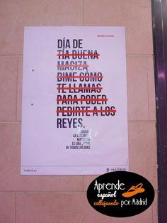 Aprende español callejeando por Madrid: Piropos