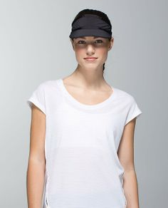 b4e1b51ba7d Perfect Pace Visor available at lululemon in the  CWE Lululemon