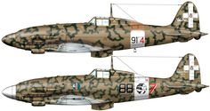 Battle of Sicily: Veltro. Ww2 Aircraft, Military Aircraft, Italian Air Force, Camouflage, Ww2 Planes, Vintage Airplanes, Military Equipment, Aviation Art, Model Airplanes
