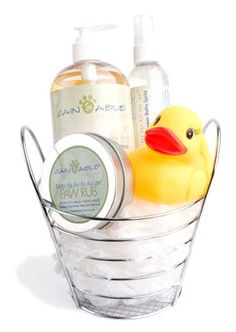 Show your pup some love with this sweet doggie spa kit! xx