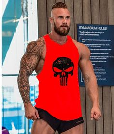 Skull Men's Tank Top - 50 % OFF TODAY - MotiviTees