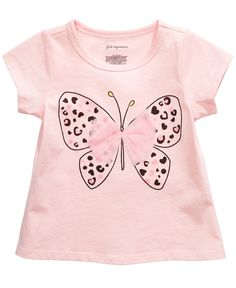 Baby Girl Clothes at Macy's come in a variety of styles and sizes. Shop Baby Girl Clothing at Macy's and find newborn girl clothes, toddler girl clothes, baby dresses and more. Baby Girl Shirts, Shirts For Girls, Kids Shirts, Baby Girls, Newborn Girl Outfits, Toddler Girl Outfits, Kids Outfits, Toddler Girls, Frocks For Girls
