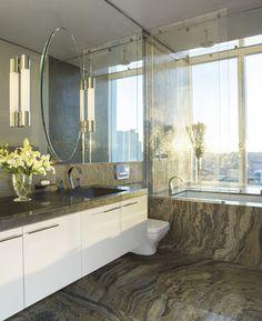 Millenium Tower Penthouse - contemporary - bathroom - san francisco - Sutro Architects