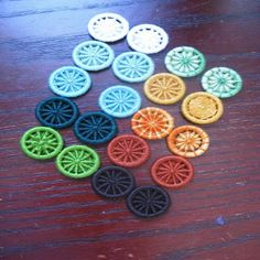 """It is slightly ironic that, living in the cradle of the Industrial Revolution, I fell in love with these buttons...  """"Dorset buttons were a ..."""