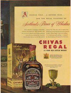 Chivas print ad