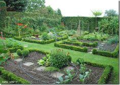 Kitchen vegetable garden | jardin potager | bauerngarten | köksträdgård   ..rh