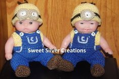 Crochet Pattern - 5.5 inch Berenguer/Lots to love/Itsy Bitsy Baby Minions