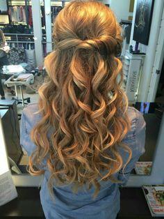 Homecoming Dresses 2018 Homecoming hair