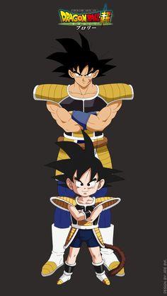 Bardok and Kakarot by Dragon Ball Z, Bardock Super Saiyan, Joker Drawings, Broly Movie, Kid Goku, Ball Drawing, Cultura Pop, Fan Art, Chibi