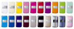 Softbank mobile Pantone collection