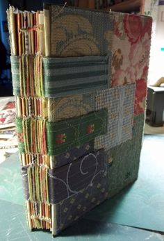 beautiful fabric binding