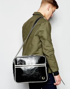 Image 3 of Fred Perry Classic Messenger Bag