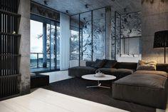 Dynamic Modern Designs | Igor Sirotov beton sur les murs