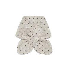 I had one of these mini, self tucking scarves when I was a kid. My grandma made it.