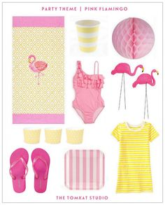 Dreaming of Summer :: Flamingo Party Ideas | The TomKat Studio