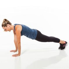 plank leg sweep = Begin in full plank position with feet together and core braced (don't let lower back sag).Without bending knee, sweep left leg open to side of hip. Hold for 1 count and return to starting position; repeat. Do the prescribed number of reps, and then switch sides to complete set. Too challenging? Try this from an all-fours position instead.