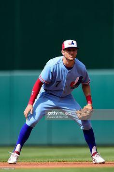 News Photo : Trea Turner of the Washington Nationals plays. Washington Nationals Baseball, Kansas City Royals, Montreal, Plays, Mlb, Baseball Cards, News, Games