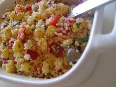 As Minhas Receitas: Salada de Couscous