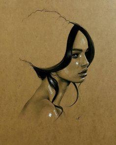 Iraklı Ressam Husam Wleed'ten 20+ Parlak ve Gerçekçi Kadın Portresi Sanatlı Bi Blog 2