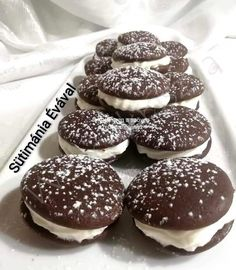 Web Confectionery – For homemade cake lovers – Pastry World Oreo Cupcakes, Hungarian Recipes, Whoopie Pies, Homemade Cakes, Winter Food, Confectionery, Cookie Recipes, Food And Drink, Sweets