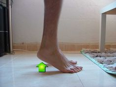 Flat Feet Exercises: Calf Raises