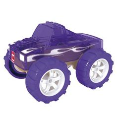 This Hape Mini Monster Truck is made from bamboo, a renewable resource that is stronger than oak and can withstand a great deal of use. Monster Truck Kids, Mini Monster, Wooden Puzzles, Wooden Toys, Hape Toys, Interactive Toys, Building For Kids, Helping Children, Fine Motor Skills
