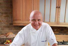Aldo Zilli in the kitchen