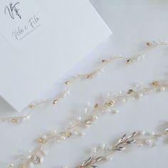 Bridal Hair Vine, Wedding Hair Pieces, Wedding Hair Accessories, Vines, Wedding Hairstyles, Crystals, Gold, Instagram, Jewelry