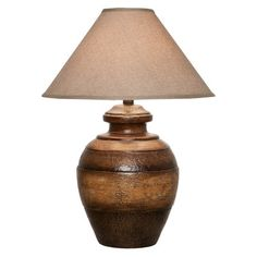 "Anthony California 29"" H Table Lamp with Empire Shade & Reviews 