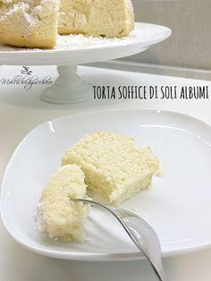 torta soffice di soli albumi