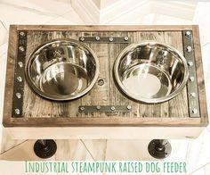 Raised dog feeder/ Pet feeder/pet feeding station/ stuff for