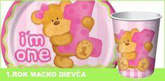 1.narodeniny macko Winnie The Pooh, Pikachu, Disney Characters, Fictional Characters, Party, Winnie The Pooh Ears, Parties, Fantasy Characters, Pooh Bear