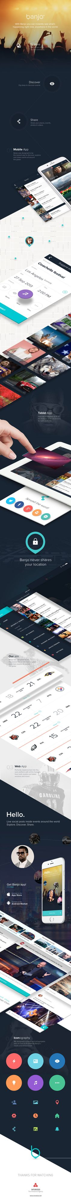 Banjo - iPhone, iPad & Web App on Behance
