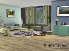 The Sims Resource: Keira Living by Angela • Sims 4 Downloads