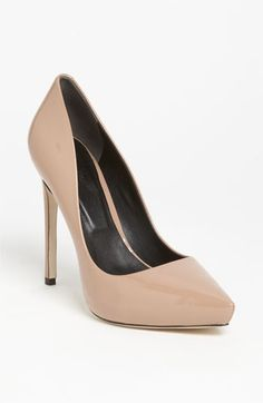 Every woman needs a nude pump - Rachel Roy 'Gardner' Pump | #Nordstrom #falltrends #shoes    More lusciousness at www.myLusciousLife.com