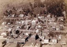 Deadwood City in 1887.