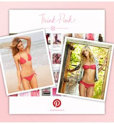 THINK PINK WITH VIX ON PINTEREST!     Pick your favorite Breast Cancer Awareness Exclusive Abby Suit - either the Ripple or the Bandeau - and then pin it to a pink inspired board with #ViXPHermanny for a chance to win your pinned suit.     Once you have pinned the suit, email a link of your board to VIXSOCIALMEDIA@GMAIL.COM.     Winner will be announced on the 31st!