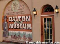 Dalton Defenders Museum, Coffeyville, Kansas. The robbers were members of the Dalton Gang, America's premier lawbreaking family of the Gilded Age. One of their hideouts is preserved in Meade, KS, but the true lover of Dalton Gang lore takes a trip east, cross state, to Coffeyville, where two of the Dalton brothers (and two of their henchmen) were shot dead on October 5, 1892.
