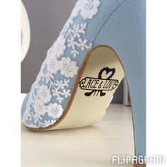 What more could you want than a whole lot of custom shoes. So pretty!