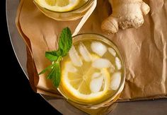 4. Honey Ginger Lemonade | 27 of the Best Summer Drink Recipes in Town to Cool You Down