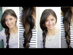 This girl is genius!  Criss Cross Braid