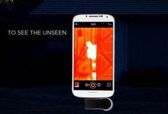 Trasforma l'iPhone e lo smartphone Android in una telecamera termica